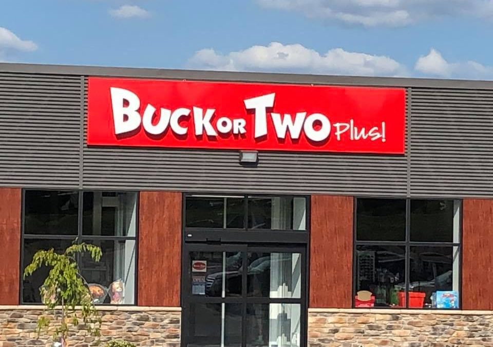 Buck Or Two Plus is now open!