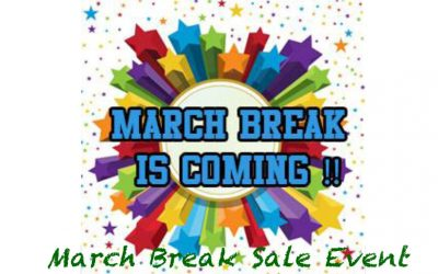 March Break Sale Event at Reclaimed TR
