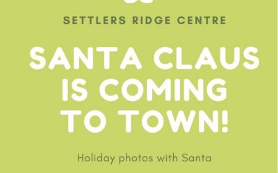 Visit with Santa at Settlers Ridge Centre