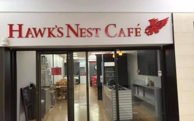 The Hawk's Nest Restaurant Re-Opens!